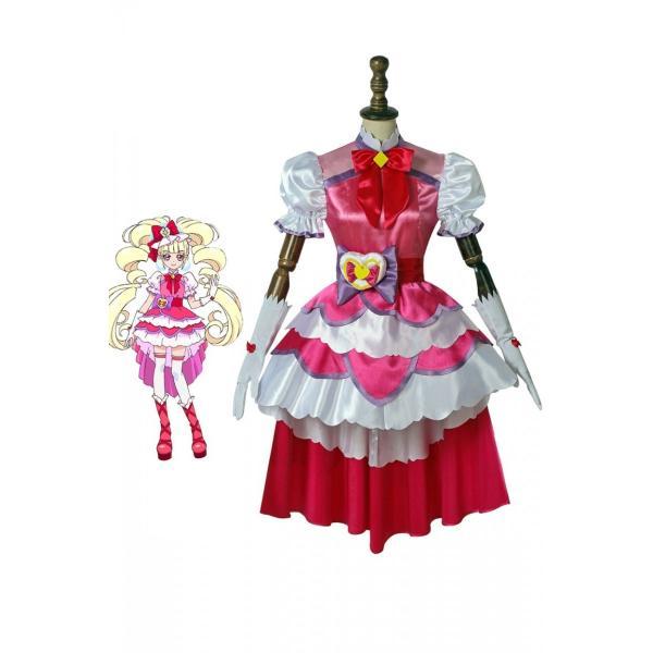 HuGっと!プリキュア キュアマシェリ 愛崎えみる コスプレ衣装