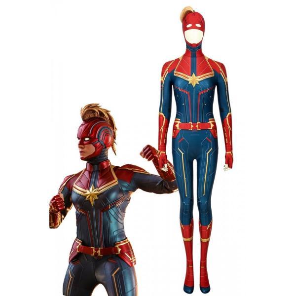 キャプテン・マーベル キャロル・ダンバース Captain Marvel Carol Danvers コスプレ衣装