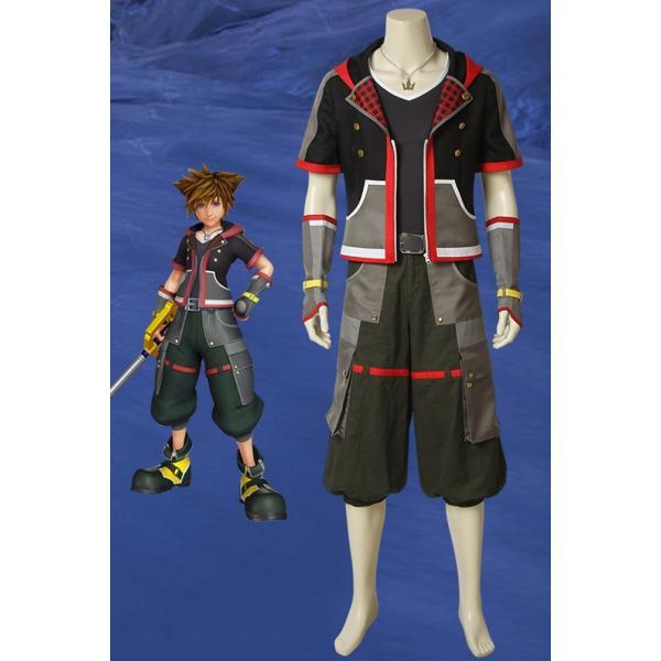 キングダム ハーツIII KHIII ソラ KINGDOM HEARTS 3 Sora ゲーム コスプレ衣装