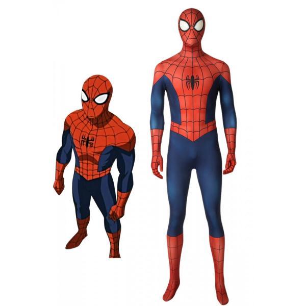 アルティメット・スパイダーマン ピーター・パーカー Ultimate Spider-Man Season1 Peter Parker コスプレ衣装 コスチューム lardoo-store
