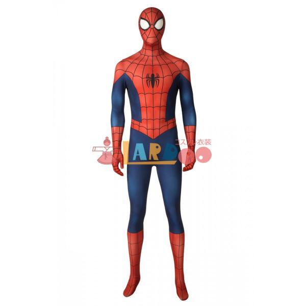 アルティメット・スパイダーマン ピーター・パーカー Ultimate Spider-Man Season1 Peter Parker コスプレ衣装 コスチューム lardoo-store 02