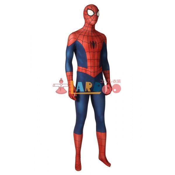 アルティメット・スパイダーマン ピーター・パーカー Ultimate Spider-Man Season1 Peter Parker コスプレ衣装 コスチューム lardoo-store 03