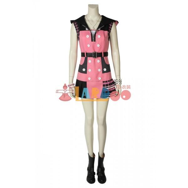 キングダム ハーツIII KHIII カイリ KINGDOM HEARTS 3 Kairi ゲーム コスプレ衣装 コスプレ コスチューム 欧米 cosplay 仮装|lardoo-store|02