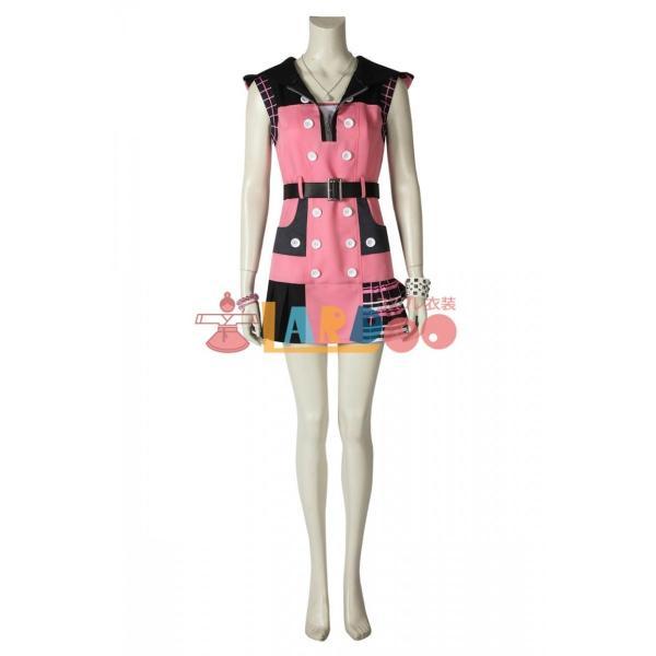 キングダム ハーツIII KHIII カイリ KINGDOM HEARTS 3 Kairi ゲーム コスプレ衣装 コスプレ コスチューム 欧米 cosplay 仮装|lardoo-store|03