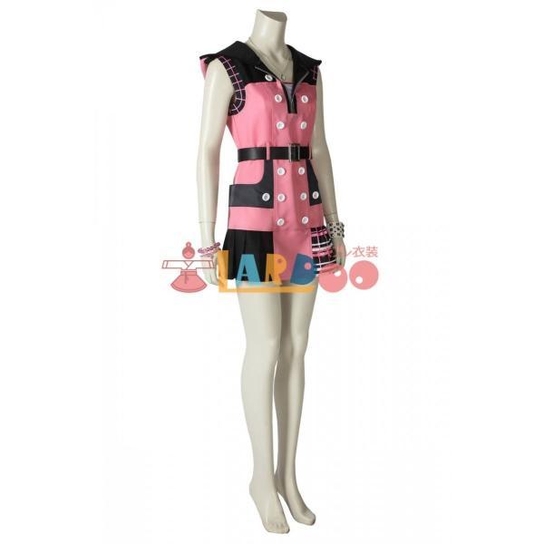 キングダム ハーツIII KHIII カイリ KINGDOM HEARTS 3 Kairi ゲーム コスプレ衣装 コスプレ コスチューム 欧米 cosplay 仮装|lardoo-store|04