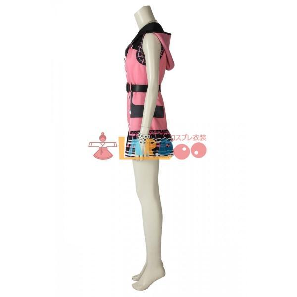 キングダム ハーツIII KHIII カイリ KINGDOM HEARTS 3 Kairi ゲーム コスプレ衣装 コスプレ コスチューム 欧米 cosplay 仮装|lardoo-store|05