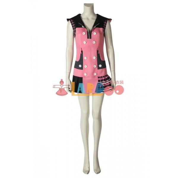 キングダム ハーツIII KHIII カイリ KINGDOM HEARTS 3 Kairi ゲーム コスプレ衣装 コスプレ コスチューム 欧米 cosplay 仮装|lardoo-store|07