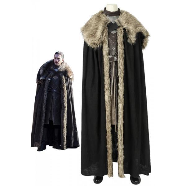 ゲーム・オブ・スローンズ 最終章 ジョン・スノウ Jon Snow コスプレ衣装
