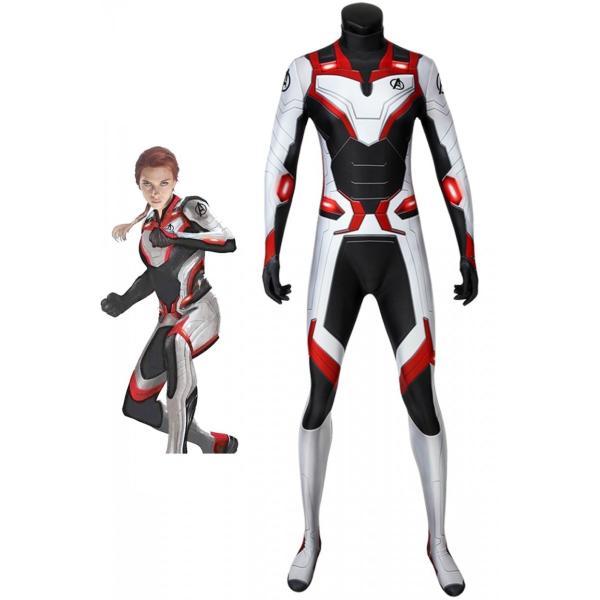 アベンジャーズ4 エンドゲーム 量子 ジャンプスーツ 戦闘服 チームウェア Jumpsuit コスプレ衣装