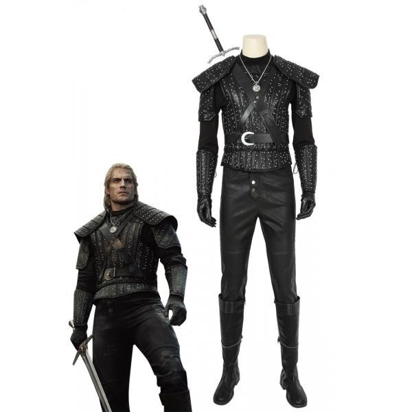 ウィッチャー モンスタースレイヤー リヴィアのゲラルト ゲラルト The Witcher Geralt of Rivia Geralt コスプレ衣装