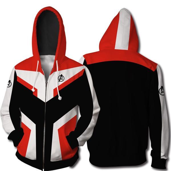 アベンジャーズ4 エンドゲーム 量子 パーカー 量子戦闘服 Avengers:Endgame アイアンマン アメリカキャプテン パーカー コスプレ衣装