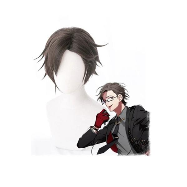 ヒプノシスマイク-Division Rap Battle- ヒプマイ 入間銃兎 ウィッグ コスプレ用 ネット付き cosplay