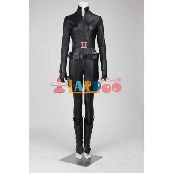 アベンジャーズ The Avengers ブラック・ウィドウ Black Widow 合皮製 コスプレ衣装 激安 コスチューム 仮装 cosplay|lardoo-store