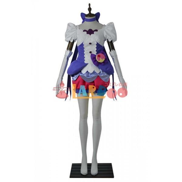 キラキラ プリキュアアラモード キュアマカロン コスプレ衣装+ハイヒール|lardoo-store|02