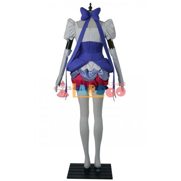 キラキラ プリキュアアラモード キュアマカロン コスプレ衣装+ハイヒール|lardoo-store|03