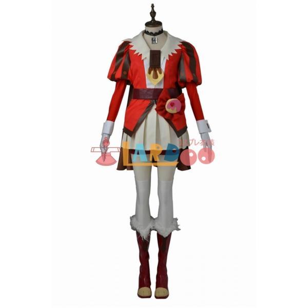 キラキラ プリキュアアラモード キュアチョコラ コスプレ衣装