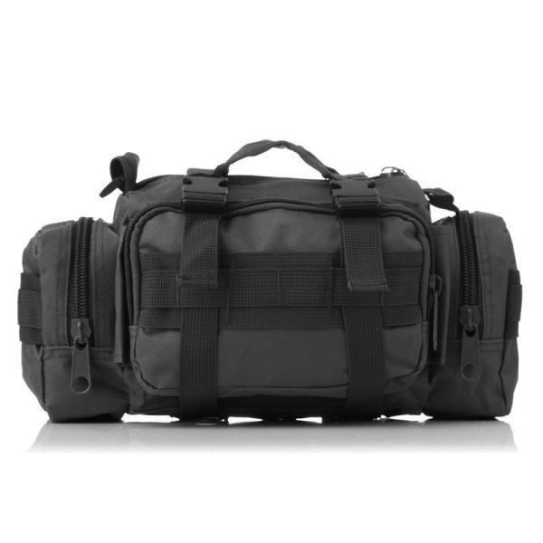 ミリタリーバッグ アーミーバッグ 防水 ショルダーバッグ、ウェストバッグ、メッセンジャーバッグ、手提げの4WAY|lassana|02
