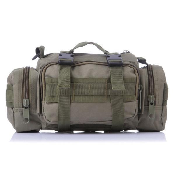 ミリタリーバッグ アーミーバッグ 防水 ショルダーバッグ、ウェストバッグ、メッセンジャーバッグ、手提げの4WAY|lassana|03