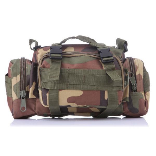 ミリタリーバッグ アーミーバッグ 防水 ショルダーバッグ、ウェストバッグ、メッセンジャーバッグ、手提げの4WAY|lassana|04