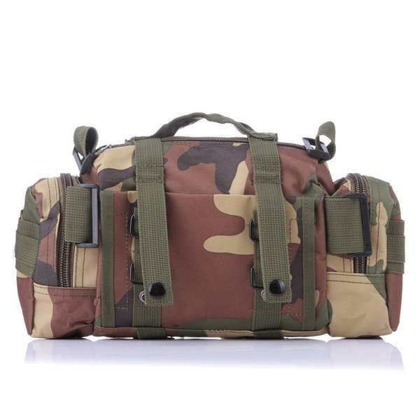 ミリタリーバッグ アーミーバッグ 防水 ショルダーバッグ、ウェストバッグ、メッセンジャーバッグ、手提げの4WAY|lassana|05