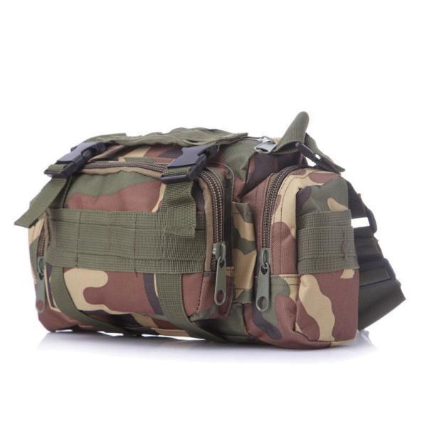 ミリタリーバッグ アーミーバッグ 防水 ショルダーバッグ、ウェストバッグ、メッセンジャーバッグ、手提げの4WAY|lassana|06