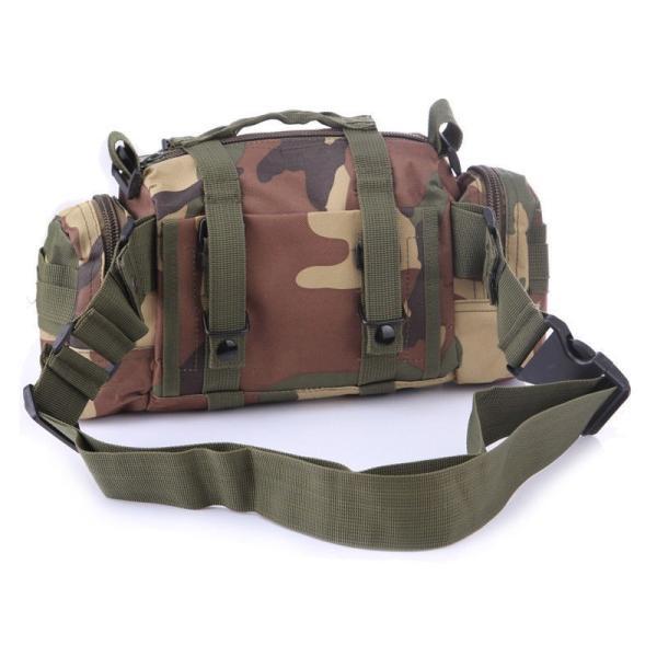 ミリタリーバッグ アーミーバッグ 防水 ショルダーバッグ、ウェストバッグ、メッセンジャーバッグ、手提げの4WAY|lassana|07