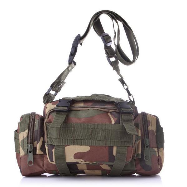 ミリタリーバッグ アーミーバッグ 防水 ショルダーバッグ、ウェストバッグ、メッセンジャーバッグ、手提げの4WAY|lassana|08