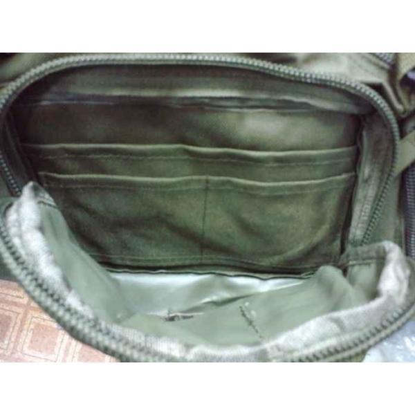 ミリタリーバッグ アーミーバッグ 防水 ショルダーバッグ、ウェストバッグ、メッセンジャーバッグ、手提げの4WAY|lassana|10