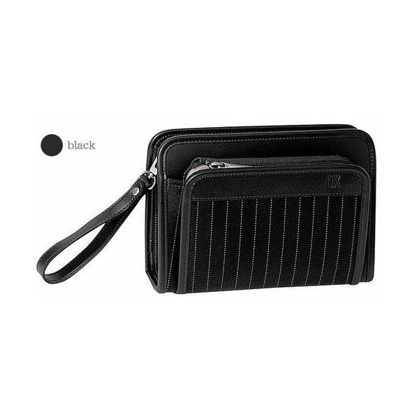 豊岡製鞄 カバン セカンドバッグ ヘリンボン織りストライプの三角ポーチ|lassana