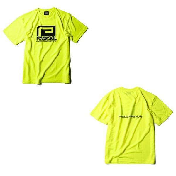 リバーサル Tシャツ reversal 半袖 メンズ ドライ メッシュ BIG MARK DRY MESH TEE 定番 2019 新作|lattachey|12