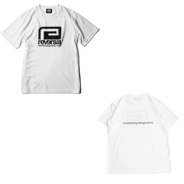 リバーサル Tシャツ reversal 半袖 メンズ ドライ メッシュ BIG MARK DRY MESH TEE 定番 2019 新作|lattachey|10