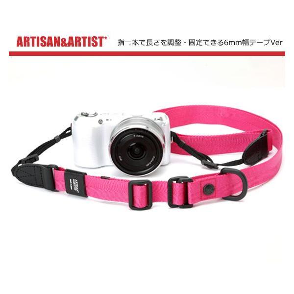 A&A/アルティザン&アーティスト おしゃれカメラストラップ ACAM-E25S 3Color