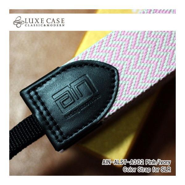 Luxecase/ラックスケース デジタル一眼用カメラストラップ AIN-ALST-A302 Pink/Ivory