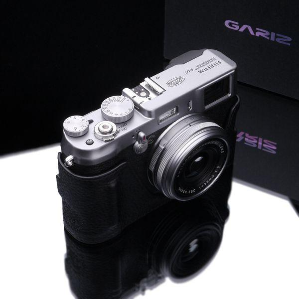 【お取り寄せ品】GARIZ/本革カメラケース Black Label Edition FUJIFILM/フジフイルム X100/X100S用(X100T対応)