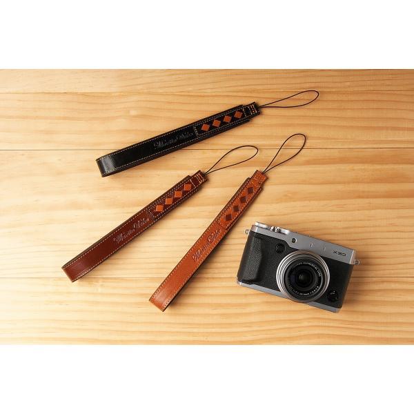 Martin Duke ミラーレス&コンパクトカメラ用ハンドストラップ SVEN Weave Leather Hand strapRed Brown