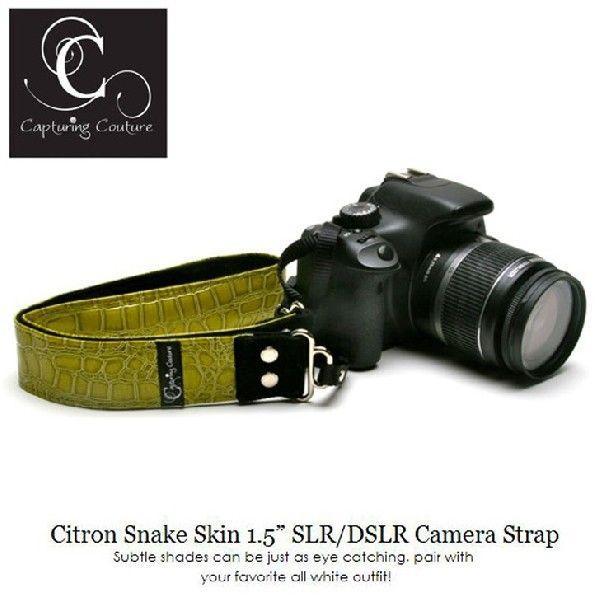 Capturing Couture おしゃれカメラストラップ SLR15-CTSS