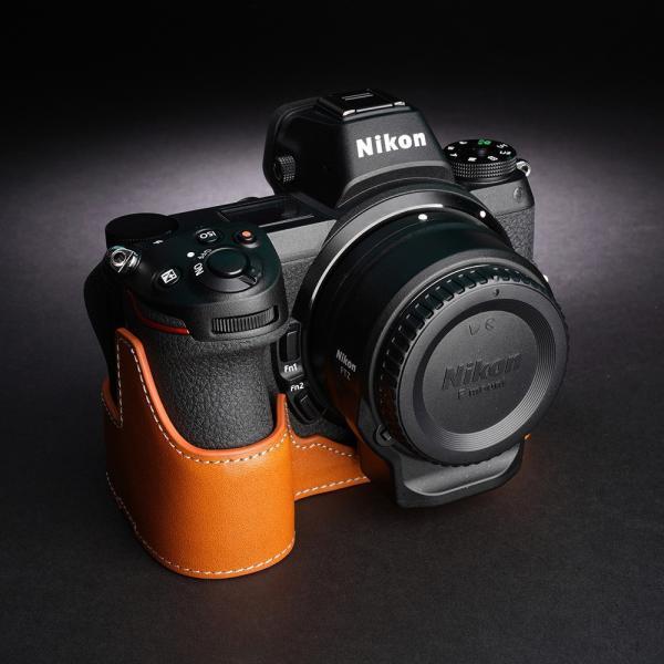 TP Original Nikon Z7/Z6 用 ボディーハーフケース オレンジ [国内正規品]