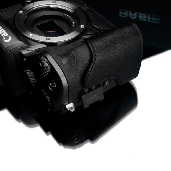 GARIZ/ゲリズ Canon EOS M5用 本革カメラケース XS-CHEOSM5BR ブラウン