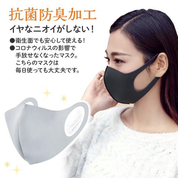 マスク  10枚セット 水洗い可能  ウイルス対策 花粉対策 秋用 冬用 蒸れない UVカット 花粉 ウィルス 飛沫|laundly|05