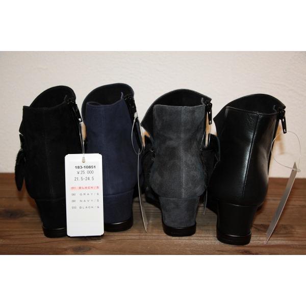 18310851 LAURA GIACCONE(ラウラジャコーネ) '16A&Wコレクション ショートブーツ