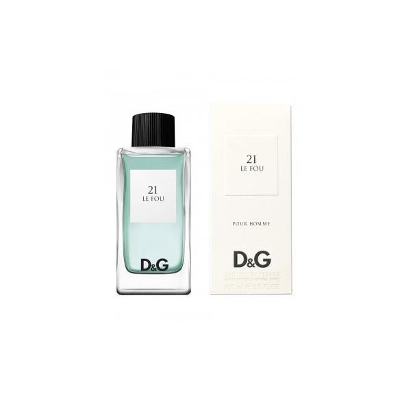 ドルチェ&ガッバーナ D&G 21 ル フー オードトワレスプレー EDT・SP 100ml 男性用香水 正規品|lavien