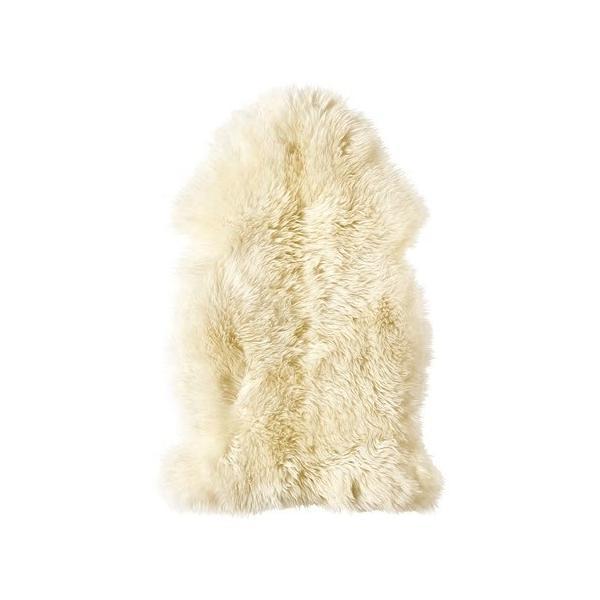 IKEA羊皮LUDDEホワイト 送料¥750!代引き可