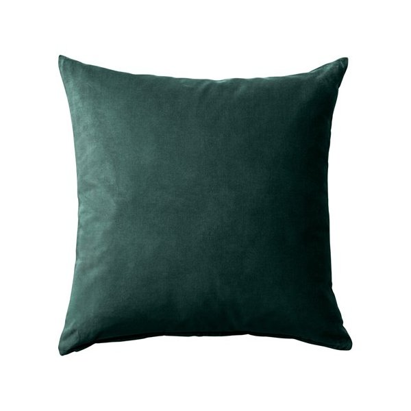 RoomClip商品情報 - IKEAクッションカバーSANELAダークグリーン50x50 cm送料¥750!代引き可