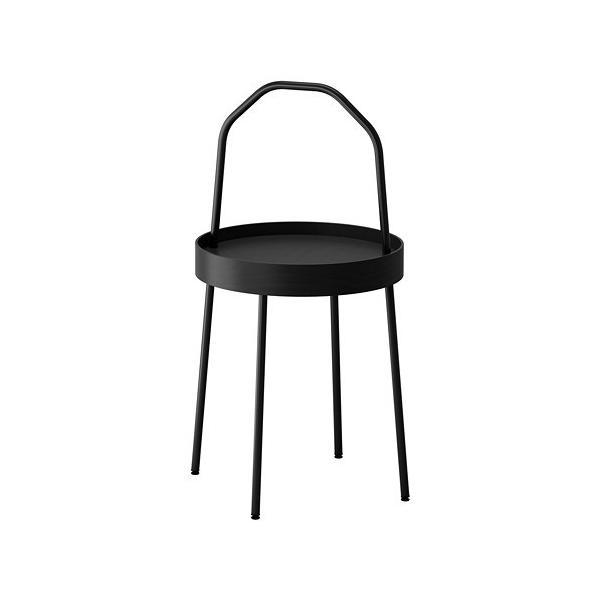 IKEAサイドテーブルBURVIKブラック¥750代引き可