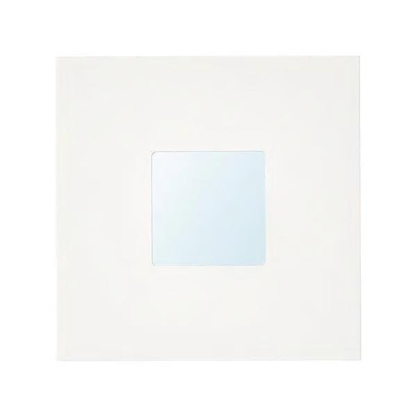 IKEAミラーMALMA ホワイト26x26 cm送料¥750!代引き可
