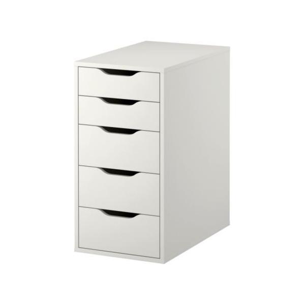 RoomClip商品情報 - IKEA引き出しユニットALEXホワイト送料¥750!代引き可