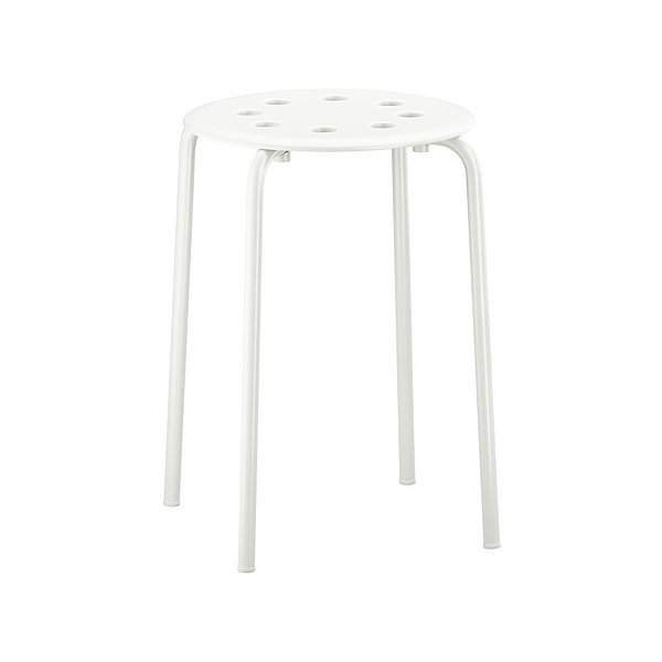 RoomClip商品情報 - IKEAスツールMARIUSホワイト送料¥750!代引き可