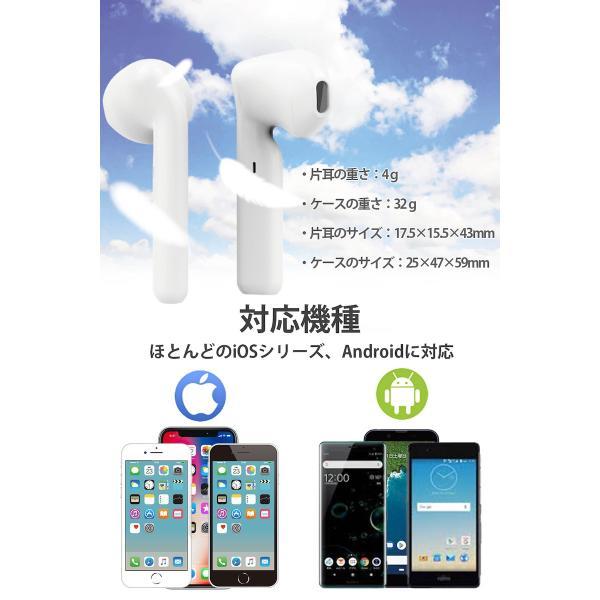 ワイヤレス イヤホン Bluetooth イヤホン bluetooth イヤホン ブルートゥース イヤホン iphone8 イヤホン iphone Android 対応|lazo-office|15