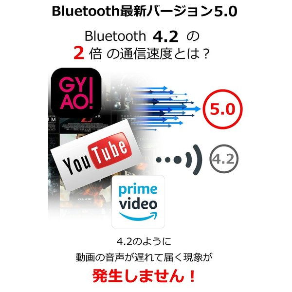Bluetooth5.0  ワイヤレス イヤホン Bluetooth イヤホン bluetooth イヤホン ブルートゥース イヤホン iphone8 イヤホン iphone Android 対応 マイク 内蔵|lazo-office|07