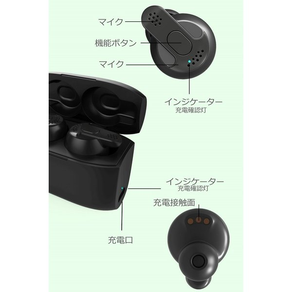 Bluetooth5.0  ワイヤレス イヤホン Bluetooth イヤホン bluetooth イヤホン ブルートゥース イヤホン iphone8 イヤホン iphone Android 対応 マイク 内蔵|lazo-office|18